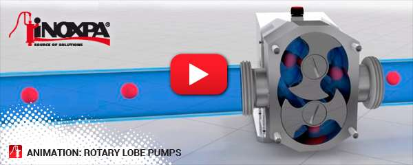 Animation: rotary lobe pumps