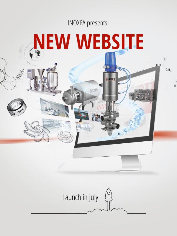 New INOXPA website goes live