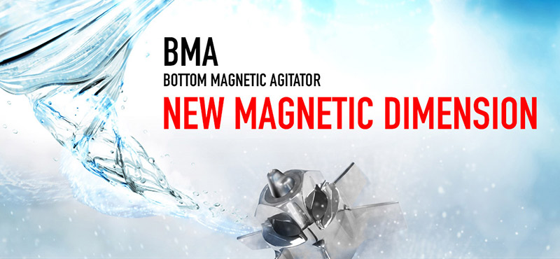 INOXPA introduces the new BMA magnetic agitator range