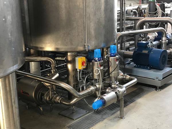Production of vegetal drinks