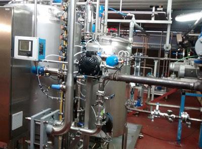 Preparation line of pharmaceutical oral liquids
