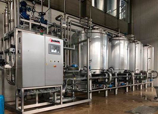 Optimal cleaning of a dairy process