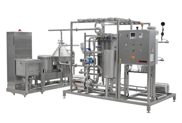 Dairy plant for a supermarket chain