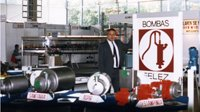 Candi Granés founds INOXPA from the parent company Bombas Félez, which manufactured water pumps.
