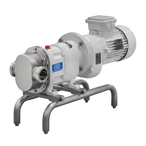 Close-coupled Rotary Lobe Pump