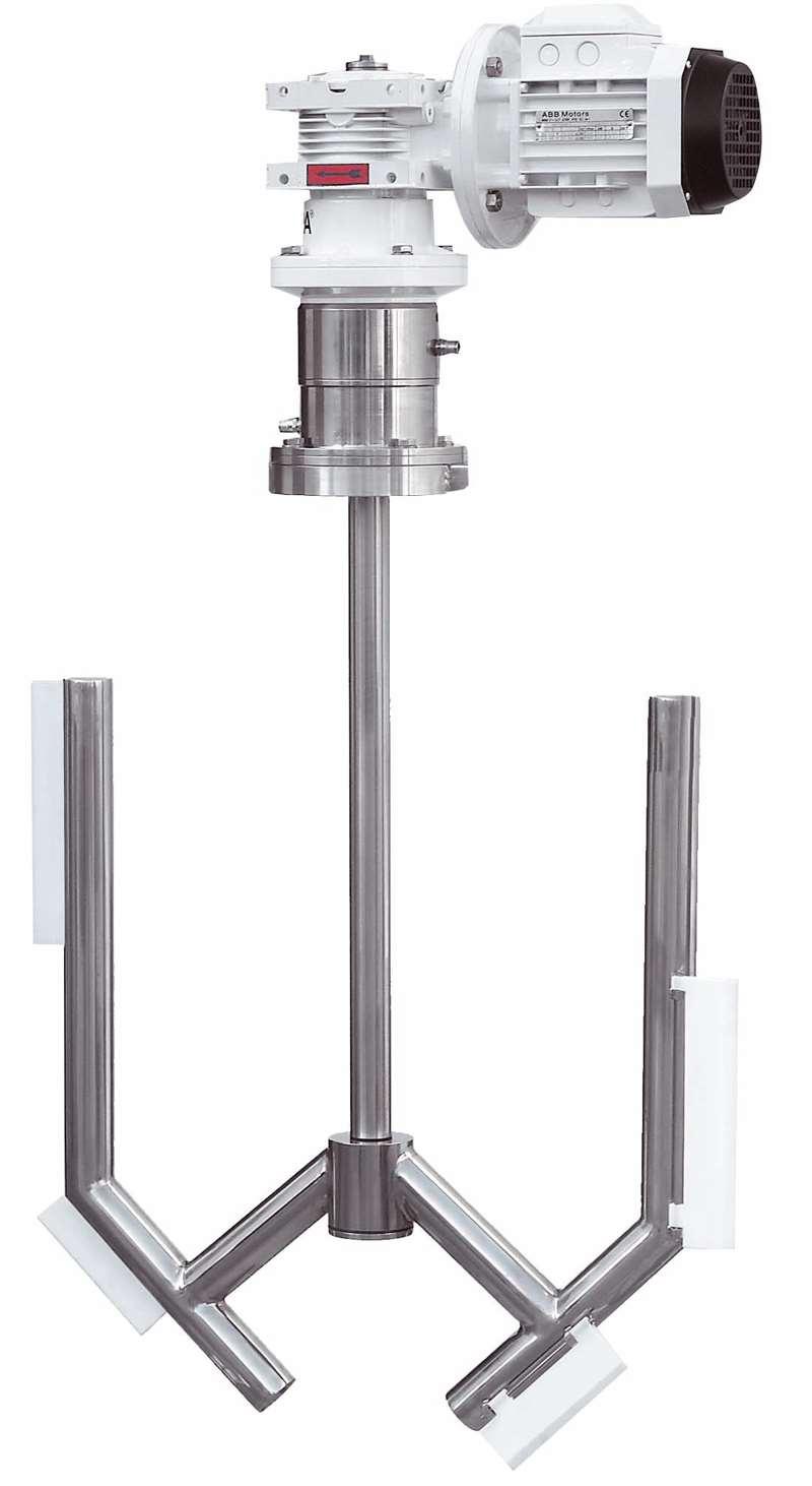 Agitators with Mechanical Seal CXC - Agitators INOXPA